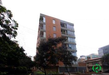 Apartamento en La Cabrera, Chico - 144mt, tres alcobas, chimenea