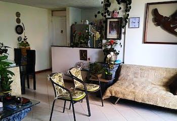 Apartamento en Las Cometas, Envigado - 61mt, dos alcobas, balcón