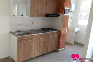 Apartamento en Bello, La Madera - 65mt, dos alcobas, balcón