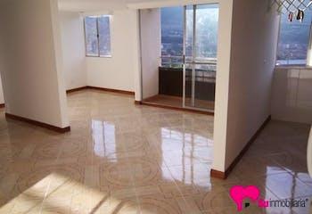 Apartamento en Bello, Madera - 59mt, dos alcobas, balcón