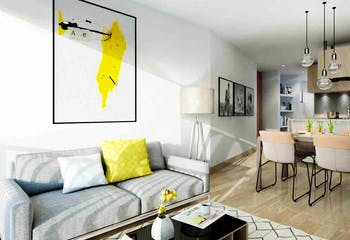 Sky 21, Apartamentos nuevos en venta en Magdala con 3 hab.