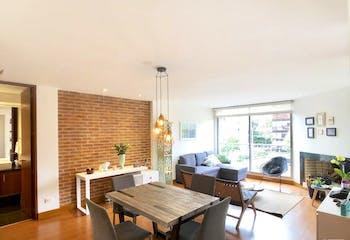 Apartamento en Chico Reservado-Bogotá, con una Habitación  - 78 mt2.