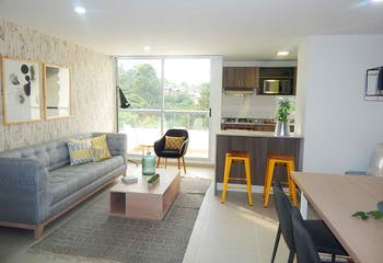Proyecto de vivienda, Aluna, en en Las Antillas de 72m², Apartamentos en venta en Las Antillas 72m²