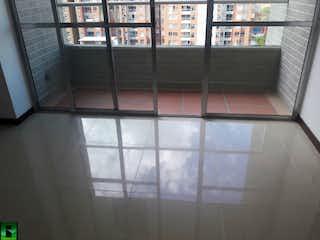 Una ventana con una puerta de cristal y una ventana en Apartamento en Bello, Dos Alcobas
