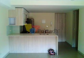 Apartamento en Loma de los Bernal, Belen - 60mt, dos alcobas, balcón