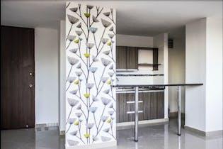 Apartamento en Cabañas, Bello - 57mt, tres alcobas, balcón