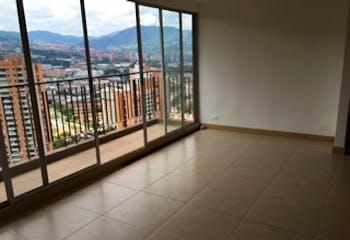Apartamento en El Trapiche, Sabaneta, 2 Habitaciones- 64m2.