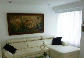 Apartamento en San Lucas, Poblado - 85mt, dos alcobas, balcón