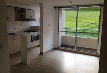 Apartamento en La Aldea, La Estrella - 60mt, tres alcobas, balcón