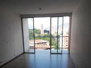 Una vista de una habitación con una puerta corredera de cristal en Apartamento en Robledo, Medellín