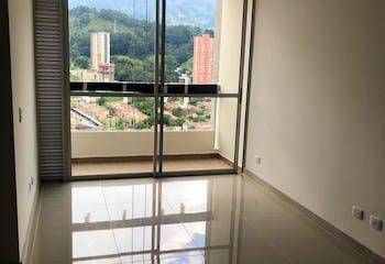 Apartamento en Calle Larga, Sabaneta, 3 Habitaciones- 68m2.