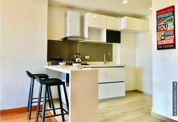 Apartamento en venta en Caobos Salazar de 1 habitacion