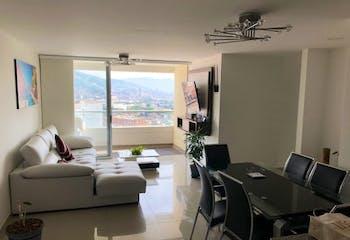 Apartamento en Aves María-Sabaneta, con 3 habitaciones - 86.87 mt2.