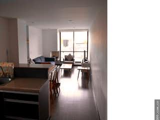 Una vista de una sala de estar y una sala de estar en VENTA APTO ARRAYANES DEL PARQUE (SUBA)