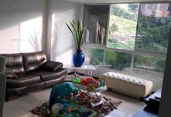 Apartamento de 87m2 en El Carmelo, Sabaneta - con dos habitaciones