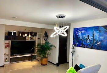 Apartamento de 77m2 en El Carmelo, Sabaneta - con tres habitaciones