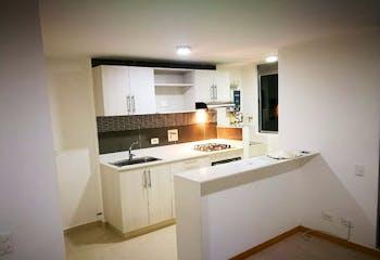 Apartamento en La Aldea, La Estrella - 55mt, dos alcobas, balcón