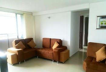 Apartamento en Las Brisas, La Estrella - 63mt, tres alcobas, balcón