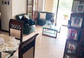 Apartamento en San Lucas, Poblado - 92mt, dos alcobas, balcon