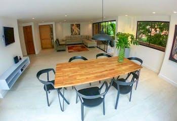 Apartamento en el Poblado-El tesoro 145 mt2 ,3 Habitaciones