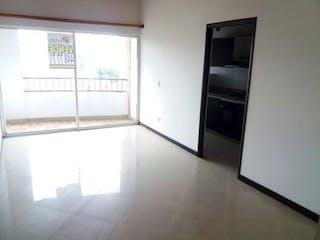 Cocina con nevera y microondas en Apartamento 85 mt2 , La America- Calasanz, 3 Habitaciones