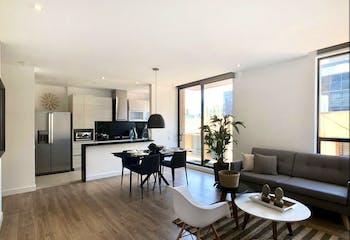 Apartamento Para Estrenar Gran Area Social De 100m2, En Chico