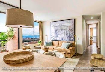 Apartamento de 49m2 en Cedritos, Usaquén - amplia alcoba