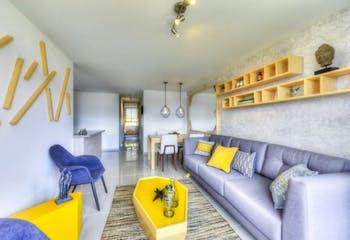 Apartamento en Las Lomitas-Sabaneta, con 2 Habitaciones - 58 mt2.