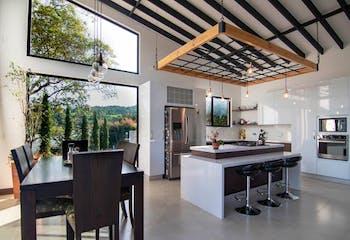 Casa en Las Palmas, Poblado - Tres alcobas
