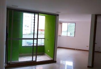 Apartamento en Aves Maria, Sabaneta - 60mt, una alcoba, balcón