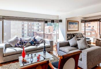 Apartamento Chicó Norte 3 - 200 mts,  3 parqueaderos.