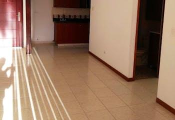 Apartamento en La Paz, Envigado - 75mt, tres alcobas, balcón