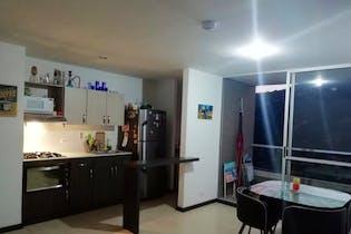 Apartamento en La Aldea, La Estrella - 63mt, dos alcobas, balcón