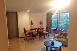 Apartamento en Ciudad del Rio, Poblado - Tres alcobas