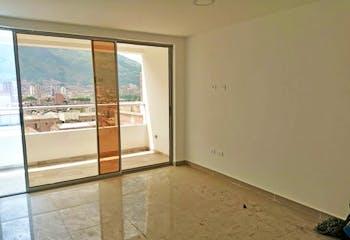 Apartamento en Cabañas, Bello - 80mt, tres alcobas, balcón