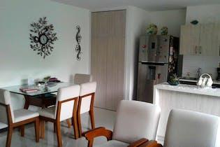 Apartamento en La Aldea, La Estrella - 69mt, dos alcobas, balcón