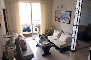 Apartamento en Loma de los Bernal, Belen - 65mt, tres alcobas, balcón