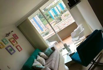 Apartamento en Rodeo Alto, Belen - 65mt, tres alcobas, balcón