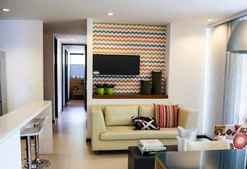Apartamento en Las Palmas, Poblado, con 2 habitaciones, con área de 67m2
