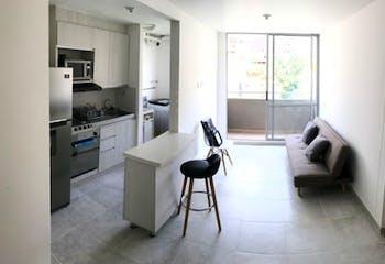 Apartamento en Itagüí-Guayabalía, con 3 Habitaciones - 55 mt2.
