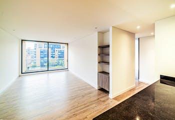 Apartamento moderno con balcón en Chico reservado de 118m2