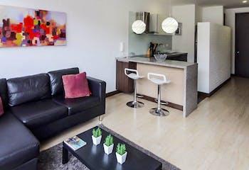 Apartamento en venta en Barrio Cedritos de 1 hab. con Gimnasio...