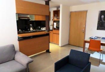 Apartamento en Rincon del Chico, Chico - 54mt, una alcoba, chimenea