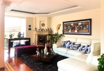 Apartamento en Santa Barbara Occidental, Santa Barbara - 160mt, cuatro alcobas, chimenea