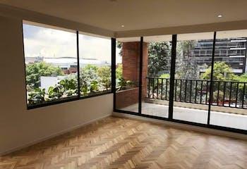 Apartamento en La Cabrera, Chico - 272mt, tres alcobas, balcón, chimenea