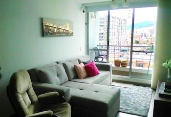 Apartamento en Cedritos, Cedritos - 66mt, dos alcobas, balcón