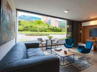 Una sala de estar llena de muebles y una televisión de pantalla plana en Apartamento en venta en Norteamerica - 88mt, tres alcobas, balcón