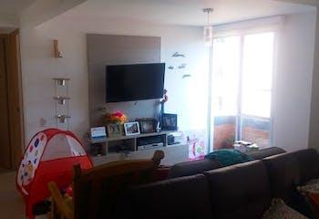 Apartamento en Aves Maria, Sabaneta - 70mt, dos alcobas, balcón