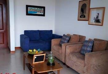 Apartamento de 123m2 en Altos Del Escobero, Envigado - con tres habitaciones