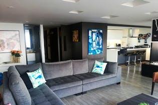 Apartamento en Chicó Alto, Bogota, con 3 habitaciones, 202m2.